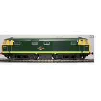 D7076 CLASS 35 HYMEK GREEN FULL YELLOW ENDS