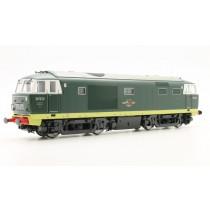 D7012 CLASS 35 HYMEK PLAIN GREEN LIVERY LOCO