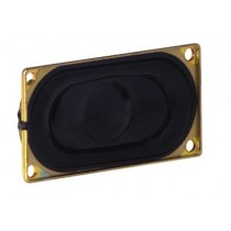 DSS216 Speaker, rectangular, 8ohm, 2W, 40x20mm