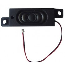 DSS229 Bass Reflex Speaker, enclosed, wire leads, rectangular, 8ohm, 1W, 58x15x23mm
