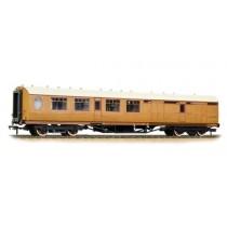 34-460 THOMPSON 3RD CLASS BRAKE CORRIDOR LNER TEAK E1914