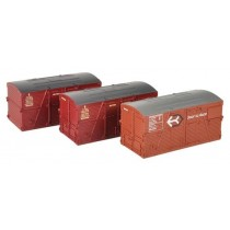 36-004A BD Large Containers Bauxite/Crimson X3