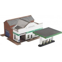 PN181 N SCALE SERVICE STATION