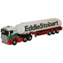 STOB013 Oxford Diecast Eddie Stobart Scania Highline Tanker - 1:76 Scale