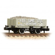 377-031 5 Plank Wagon Steel Floor 'ICI Lime' with Load