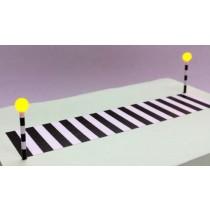 GM379 OO SCALE ZEBRA CROSSING ROAD MARKINGS