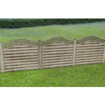GM452 FENCE PANELS WITH LATTICE TOP