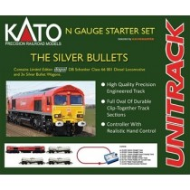 GMKS004 SILVER BULLET KATO TRAIN SET