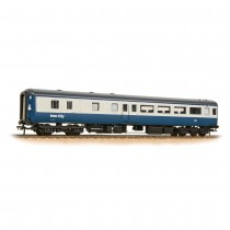 "39-700DC ""Aircon"" BSO brake second open in BR blue and grey - DCC fitted with interior lighting"