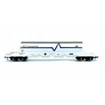 EFE Rail OO Gauge PBA Tiger Wagon EEC International White 11625