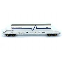 EFE Rail OO Gauge PBA Tiger Wagon EEC International White 11630
