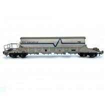 EFE Rail OO Gauge PBA Tiger Wagon EEC International White 11624 (Weathered)