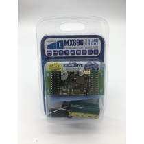 MX696N Large scale non sound decoder 4A 8 function pin fitting with ribbon harness