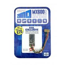 MX600R 4 FUNCTION ECONOMY LOCO DECODER 8 PIN