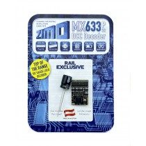 MX633P22 9 function Plux 22 decoder with stay alive capability