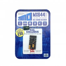 MX644D 1.2A 6 or 8 function sound decoder 21 pin