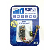 MX645R 1.2A 10 function standard sound decoder 8 pin