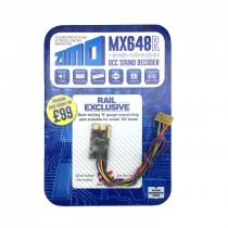 MX648R 0.8A 6 function small sound decoder 8 pin