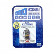 MX649N MICRO SOUND DECODER 6 PIN DIRECT PLUG 23X9X4MM