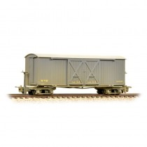 393-025 Covered Goods Wagon WW1 WD Grey Weathered