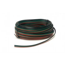 PM51 Point Motor Wire (Red/Green/Black) 10m Tripled (14 x 0.15)