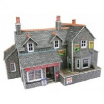 PN154  VILLAGE SHOP AND CAFE N GAUGE