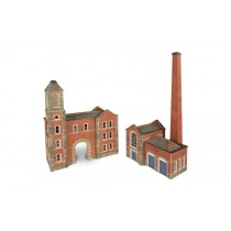PN184 BOILERHOUSE AND FACTORY N GAUGE