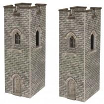 PN192 N SCALE WATCH TOWERS (PAIR)