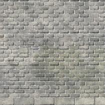 PN195 N SCALE CASTLE WALL STONEWORK