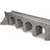 PO241 STONE VIADUCT OO GAUGE A large two track viaduct with end walls