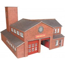 PN189 FIRE STATION N GAUGE