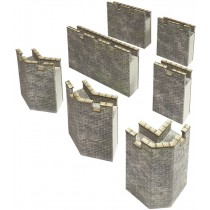 Castle Curtain Walls OO Gauge