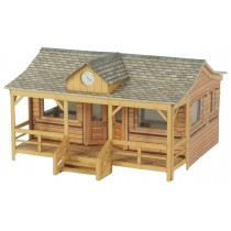 PO410 WOODEN PAVILLION OO GAUGE