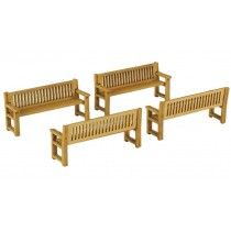 PO503 PARK BENCHES OO GAUGE