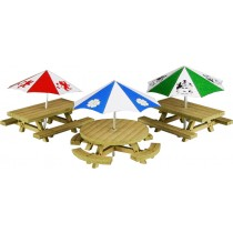 PO510 PICNIC TABLES OO GAUGE