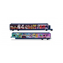 Eurostar Class 373/1 'Yellow Submarine' Divisible Centre Saloons Coach Pack