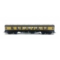 Hornby R4353 Mk1 CK corridor composite W15612 in BR chocolate and cream - Railroad Range