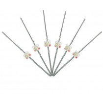 LED-RDM Mini Butterfly Type  6x 1.6mm (w/resistors)  Red