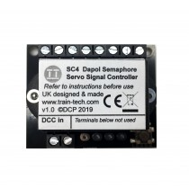 TTSC4 Train Tech SC4 Servo Controller for Semaphore Signals