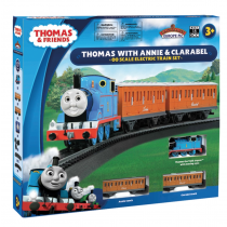 Thomas with Annie and Clarabel DCC Ready