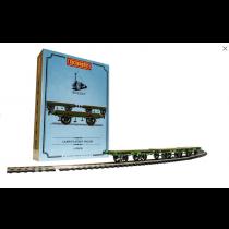 L&MR, Flat Bed Wagon Pack - Era 1