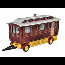 76SCV001 Showmans Caravan Maroon