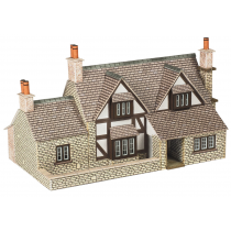 N SCALE TOWN END COTTAGE