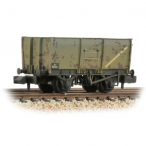 377-453 16T Steel Slope-Sided Mineral Wagon BR Grey (Early)