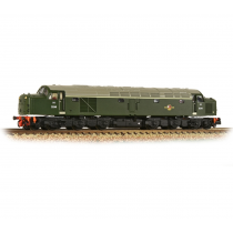 Class 40 Disc Headcode D248 BR Green (Late Crest)