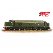 Class 40 Disc Headcode D248 BR Green (Late Crest) Sound fitted.