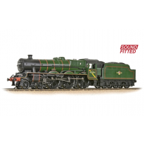 LMS 5XP 'Jubilee' 45654 'Hood' BR Lined Green (Sound fitted)