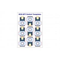 DCD-SPT ALPHA SWITCH TEMPLATE (PK 36)