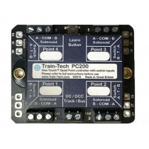TTPC200 QUAD POINT DCC CONTROLLER