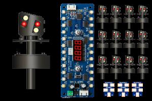 DCD-MGS-MG ALPHA MIMIC 12x 4 LED UK Modern Ground Signal